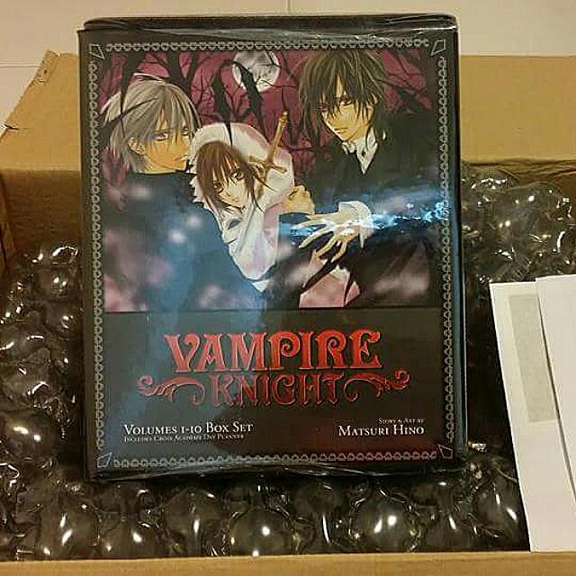 Vampire Knight Manga Box Set