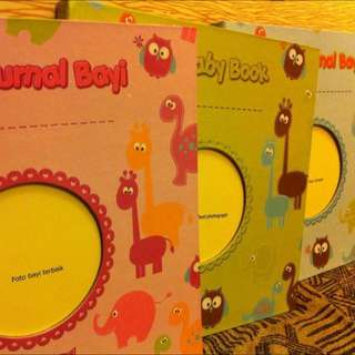 My Baby Book Journal / Buku Jurnal Bayi
