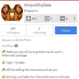 SCAMMER: SHOPWITHPIEEE 《BLACKLISTED》