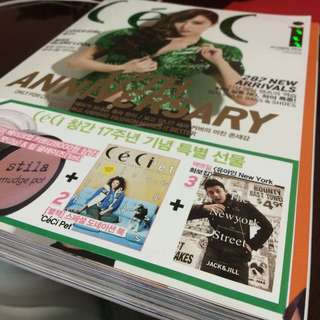 SNSD Ceci Magazine w Jessica On The Cover