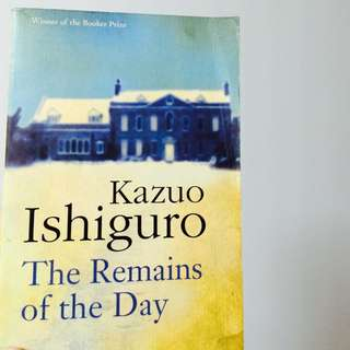 Kazuo Ishiguro's Remains Of The Day