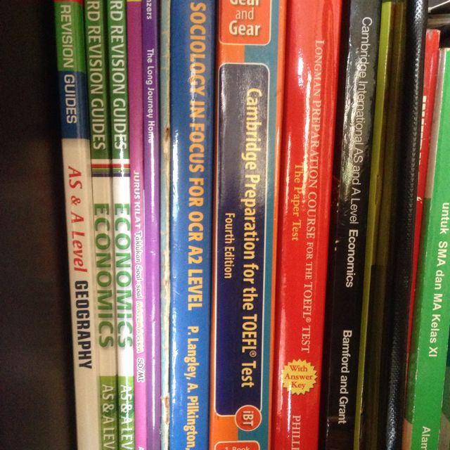 A, As And O Level Books, Dictionary