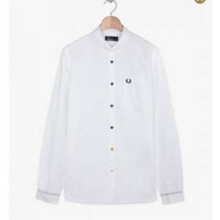 Fred Perry Colored Button And Stitch Shirt