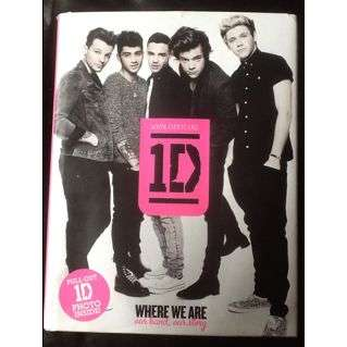 One Direction Where We Are (Hardcover)