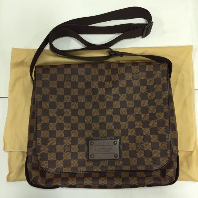 a6103b7b9013 BN Louis Vuitton Damier Canvas Men Sling Bag Authentic