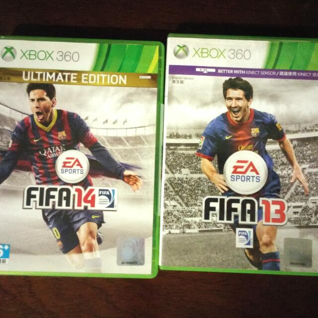 FIFA 14 Ultimate Team Edition & FIFA 13 XBOX 360