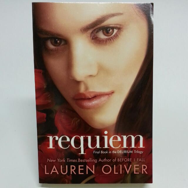 Requiem Delirium 3 By Lauren Oliver