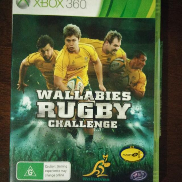 Wallabies Rugby Challenge XBOX 360