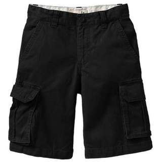 BN Size 6yr Old Navy Black Cargo Shorts For Kid Boy - Pkoldnavy Pkboy