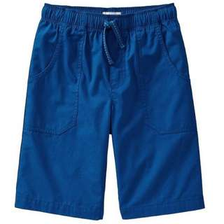 BN Size XS(5-6yr), S(6-7yr) Old Navy Blue Canvas Pull-On Shorts For Kid Boy - Pkoldnavy Pkboy