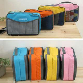New. In Stock. Travel Organizer Bag. Travel Check.