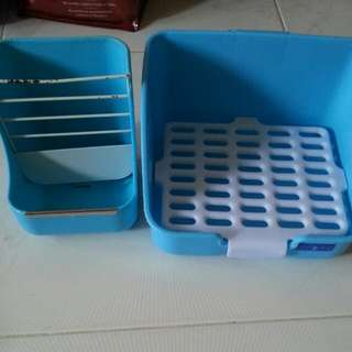 Pet Food Tray And Litter Tray