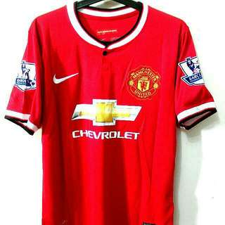 GRADE ORI BPL JERSEY MANCHESTER UNITED ANGEL DI MARIA NO 7 With Free Pants