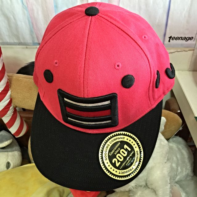 Authentic GOOGIMS Hot Pink Newera Cap