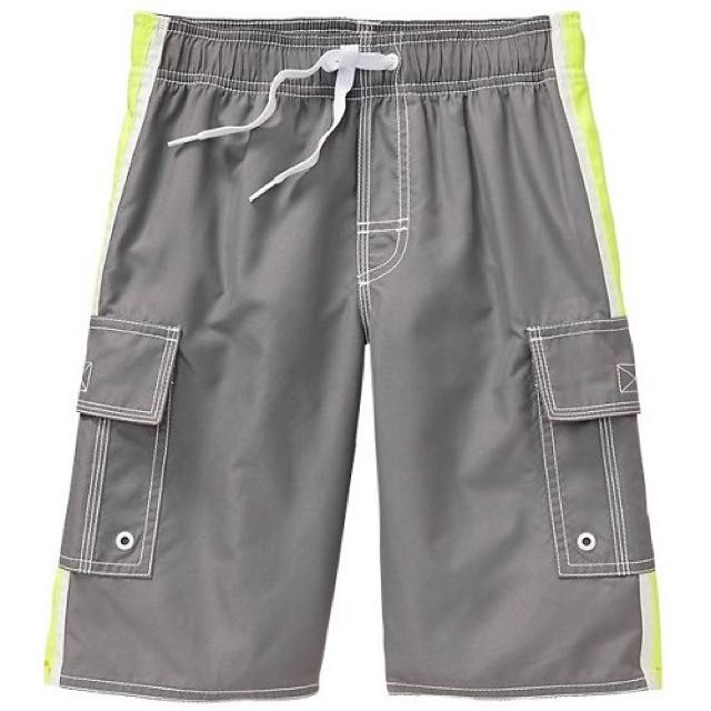 BN Size S(6-7yr) Old Navy Side Stripe Cargo Swim Shorts For Kid Boy - Pkoldnavy Pkboy
