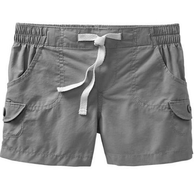 BN Size XS(5-6yr), S(6-7yr) Old Navy Mock Drawstring Khaki Shorts For Kid Girl - Pkoldnavy Pkgirl