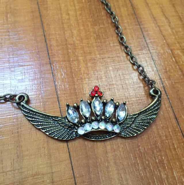 Crown Short Necklace