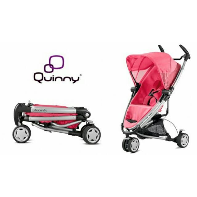 Quinny Zapp Xtra 2 Pink Precious Stroller