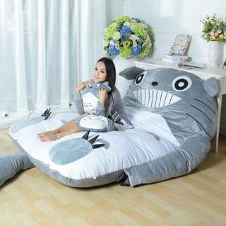 Giant Totoro Bed Promotion
