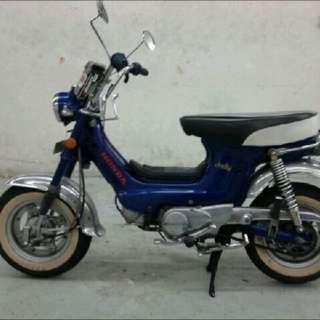 Let It Go...! Honda chaly cf 70cc COE Till 2020