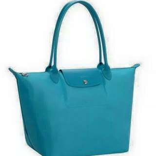 Special $100 For National DAY..Authentic Longchamp Medium Turquoise