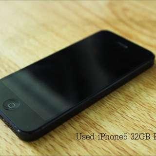 iPhone5 32GB Black