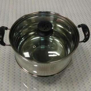 🔥全新《鍋寶》不銹鋼節能免火再煮鍋4L蓋🔥