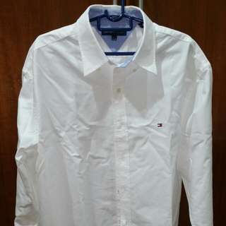 Tommy Hilfiger White Shirt (New)