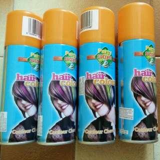 Hair Colour Spray - Orange