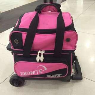 Ebonite bowling bag