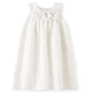 BN 12m, 18m, 24m Carter's Rosette & Lace Dress For Kid Girl - Pkcarters Pkgirl