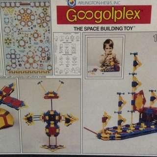 Vintage Googolplex Space Building Toy