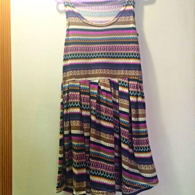 Brand NEW Sleeveless Tribal Dress