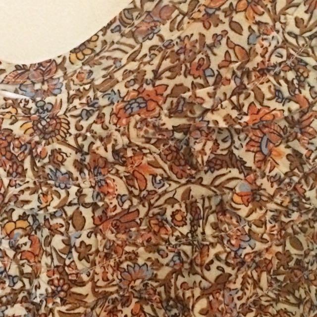 Floral Cotton On Dress