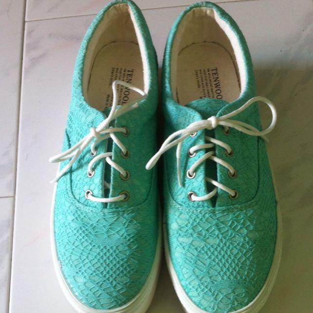 Mint Platform Shoes