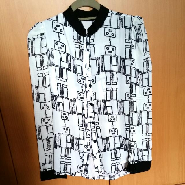 Robo Button-down