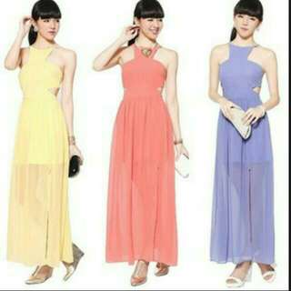 LB Marcelyn Maxi In Yellow