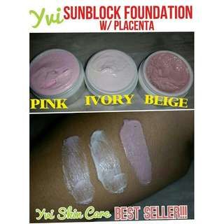 Sunblock Foundation w/ Placenta