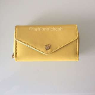 Crown Wallet - Yellow