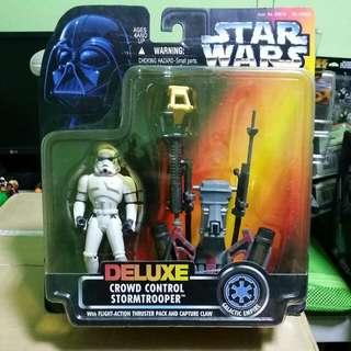 Kenner Star Wars Deluxe Crowd Control Stormtrooper