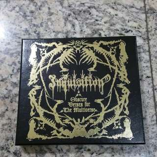 "INQUISITION ""Obscure Verses For The Multiuniverse"" Cd Boxset (Black Metal, Death Metal) Seasons Of Mist"