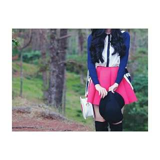 SCUBA SKIRT (Available only for advance reservation) Fabric: High quality cotton spandex Waist: 24-32 inches Length: 48cm