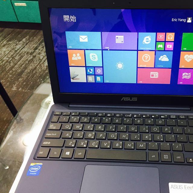 ASUS X205 四核心小筆電(藍)2015/01/17購入