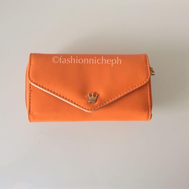 Crown Wallet - Orange