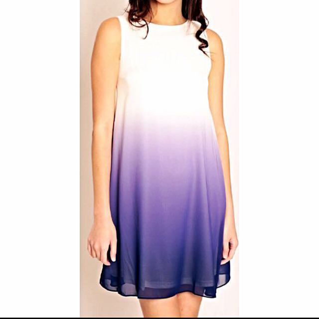 (Pending) Purple Ombre Shift Dress