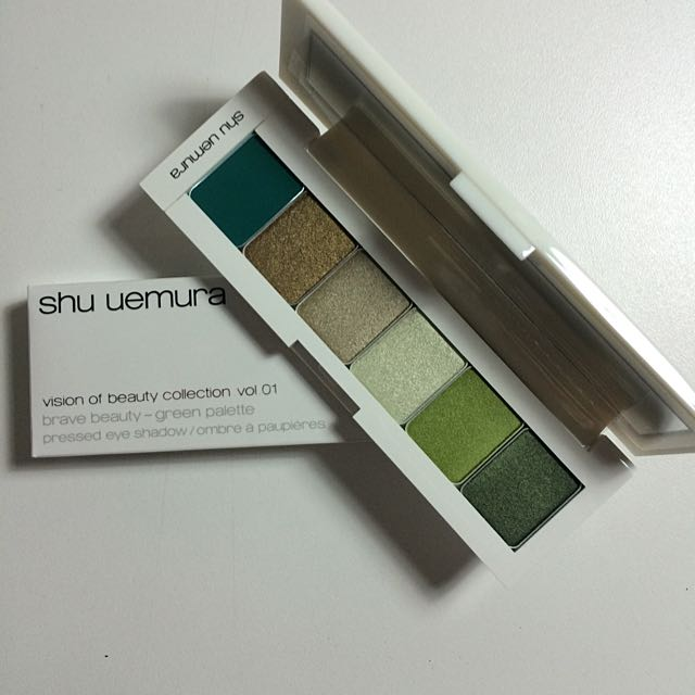 Shu Uemura Vision Of Beauty Collection Vol.1 Brave Beauty Green Palette