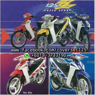 Y125ZR ORIGINAL BODYSET