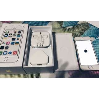 GOLD IPHONE 5S 16GB (10/10) **PENDING**