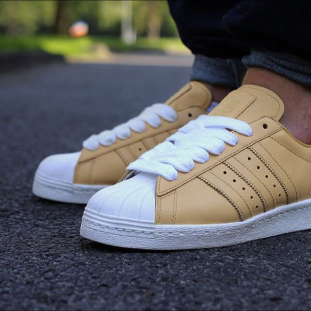 4cbe4b4ec37d ... discount code for adidas superstar 80s x nigo us8.5 fits us9 pale nude  white