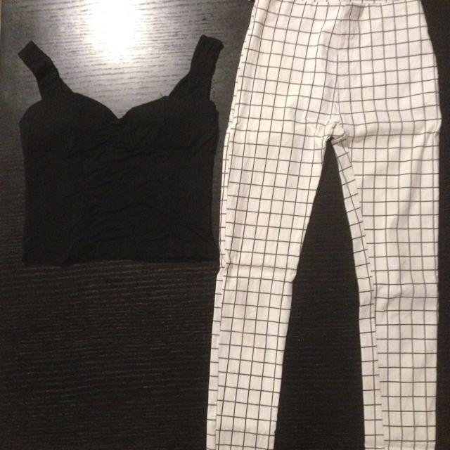 Crop Top And High waist Legging